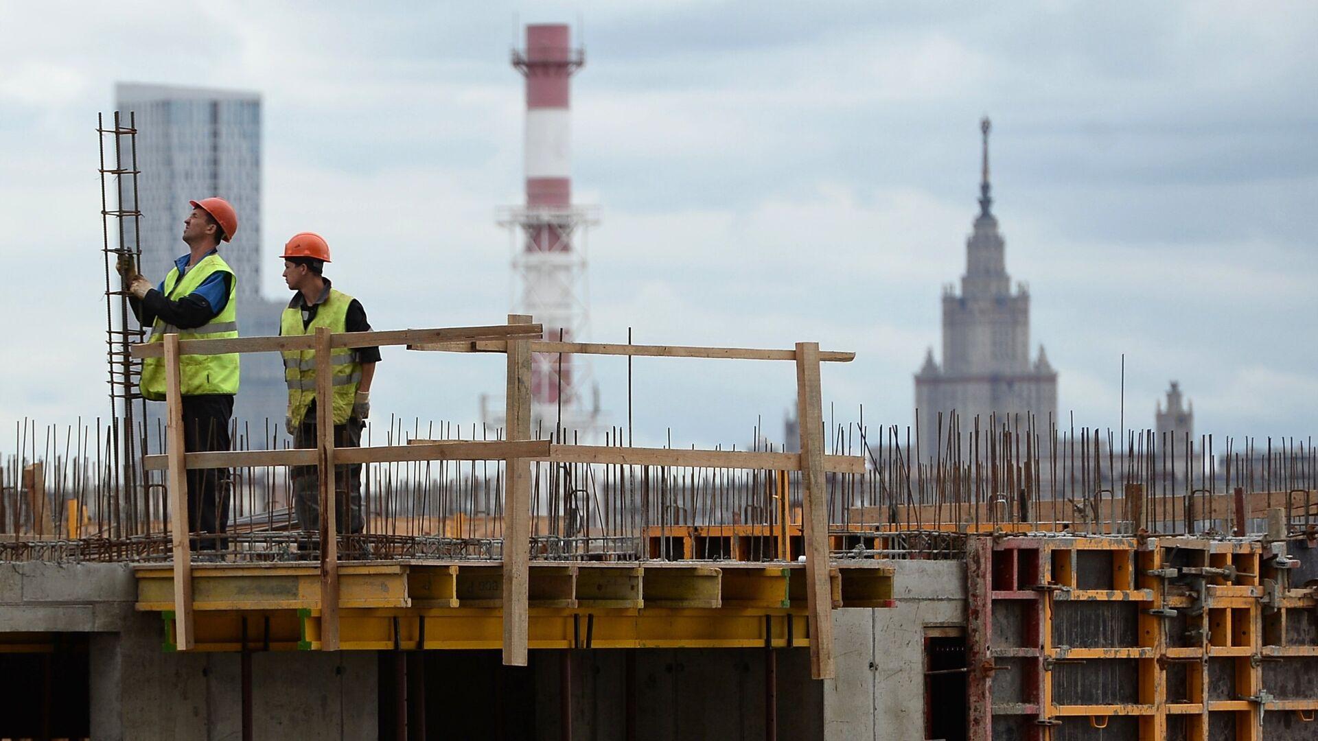 Строительство жилья - РИА Новости, 1920, 05.02.2021