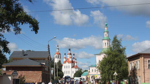 Центр города Тотьма