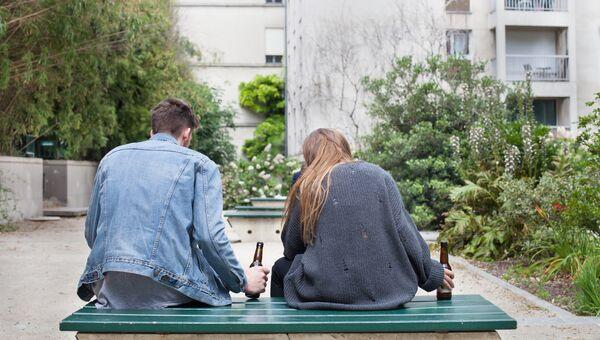 Подростки с алкоголем