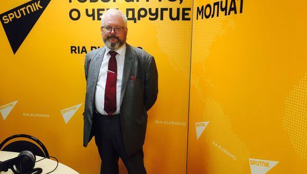 Заместитель руководителя Департамента культурного наследия, главный археолог города Москвы Леонид Кондрашев