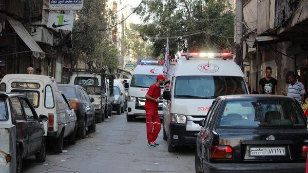 Скорая помощь в Сирии