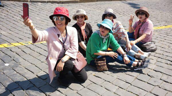 Туристы. Архивное фото