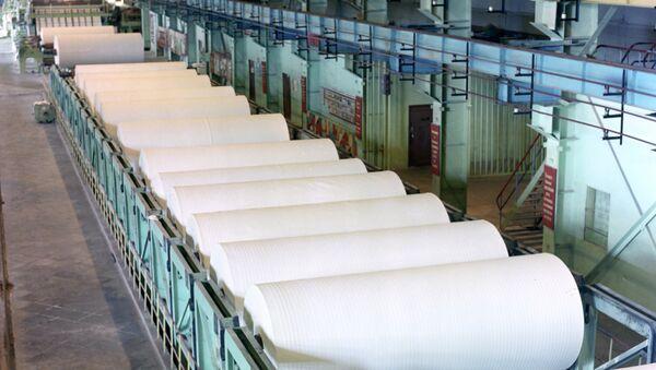 Целлюлозный завод. Архивное фото