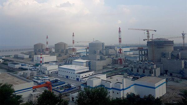 Тяньваньская АЭС в Китае. Архивное фото