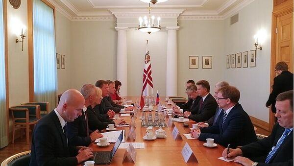 VII заседание Межправительственной Российско-Латвийской комиссии по экономическому, научно-техническому, гуманитарному и культурному сотрудничеству. 15 августа 2017