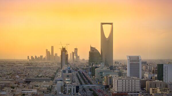 Королевская башня в столица Саудовской Аравии Эр-Рияде. Архивное фото