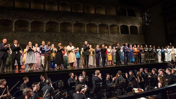 После исполнения оперы Милосердие Тита в Зальцбурге