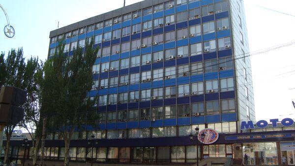 Административное здание предприятия Мотор Сич