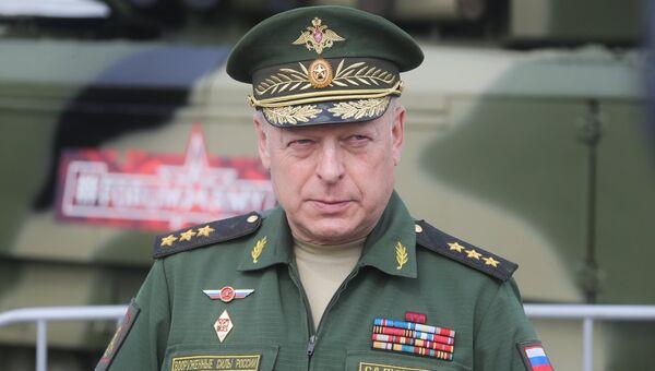 Главнокомандующий сухопутными войсками МО РФ генерал-полковник Олег Салюков. Архивное фото