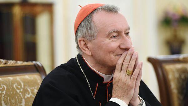 Государственный секретарь Ватикана Пьетро Паролин