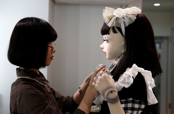 Модель-кукла Лулу Хашимото