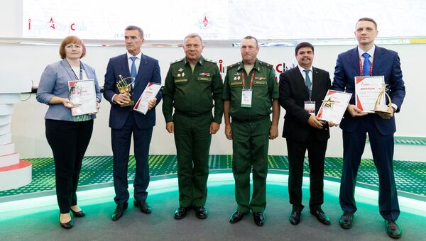 Награждение участников форума Армия-2017 по номинациям. 26 августа 2017