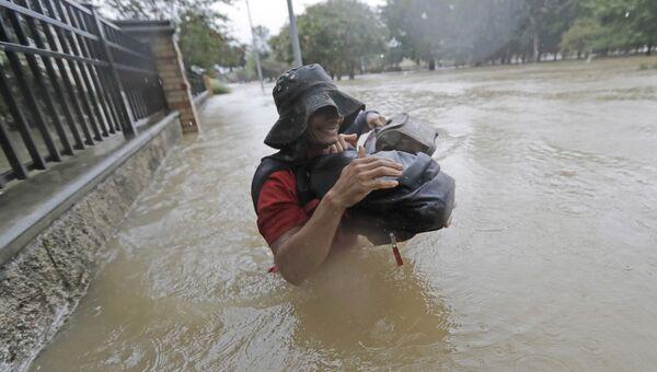 Наводнение после урагана Харви в Хьюстоне, штат Техас
