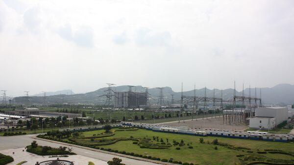Территория Тяньваньской АЭС