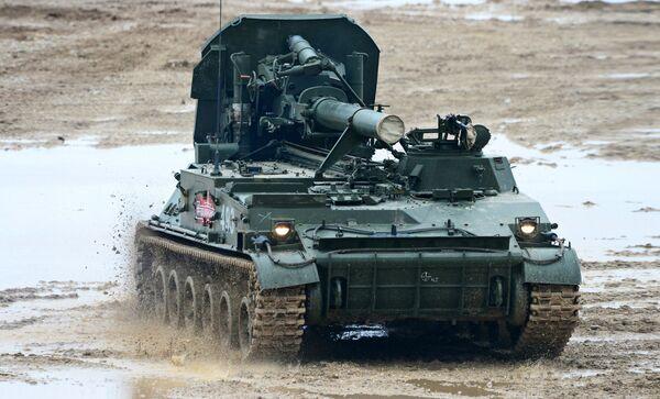 240-мм самоходный миномёт 2С4 Тюльпан