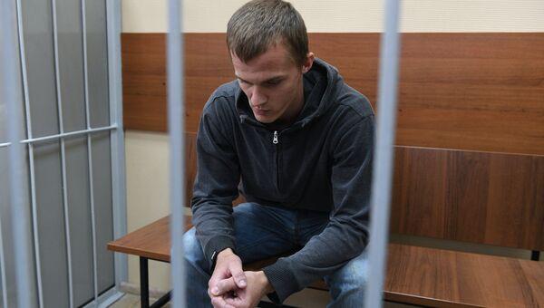 Корней Макаров в Хамовническом суде. Архивное фото