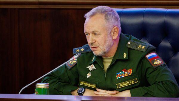 Заместитель министра обороны РФ Александр Фомин. Архивное фото