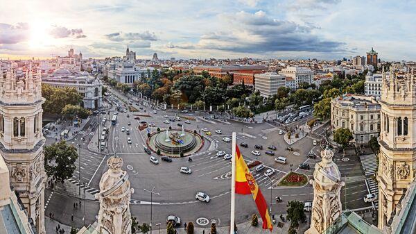 Площадь в Мадриде
