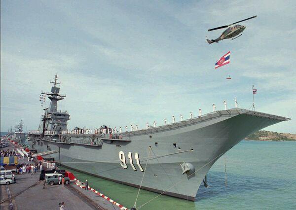 Таиландский авианосец Чакри Нарубет