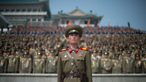 Военнослужащий КНДР. Архивное фото