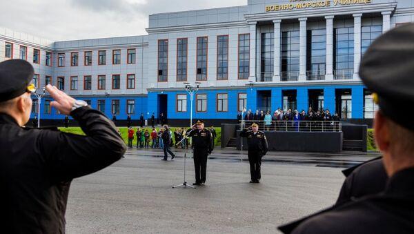 Мурманское Нахимовское военно-морское училище. Архивное фото