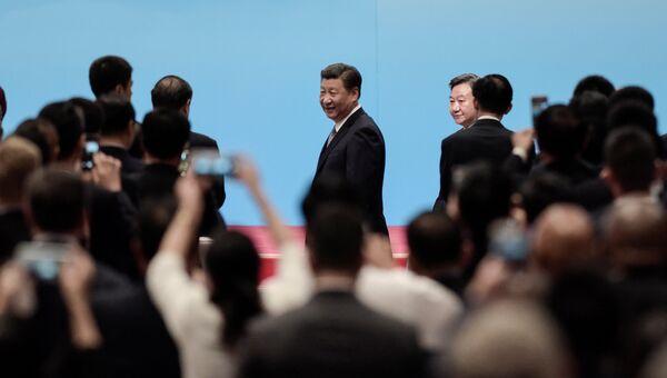 Президент Китая Си Цзиньпин прибыл на открытие саммита БРИКС в Китае. 3 сентября 2017
