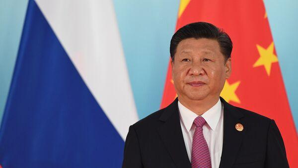 Председатель КНР Си Цзиньпин. Архивное фото