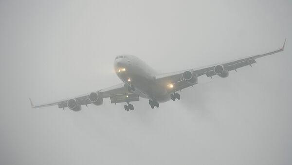 Самолеты во время посадки