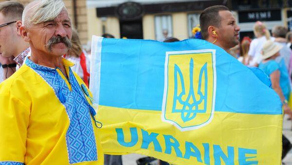 Празднование Дня Независимости в Киеве. Архивное фото
