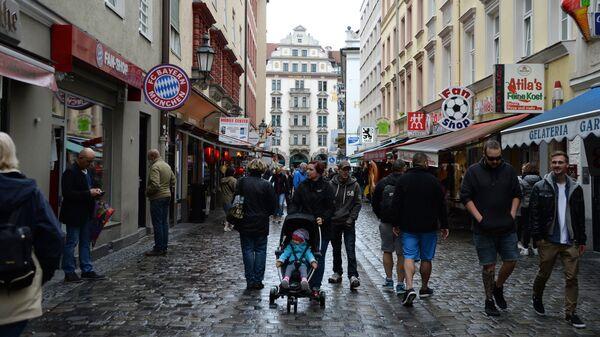 На одной из улиц Мюнхена