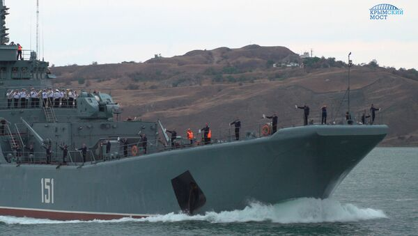 Корабль Черноморского флота. Архивное фото