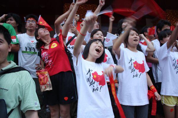 Китай встречает олимпиаду