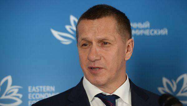 Полномочный представитель президента РФ в Дальневосточном федеральном округе Юрий Трутнев. Архивное фото