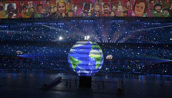 Церемония открытия Олимпийских Игр в Пекине