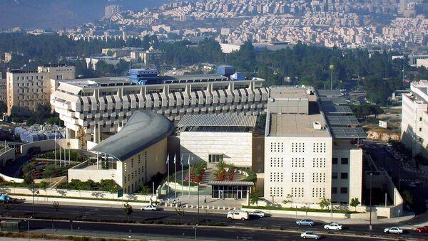 Здание Министерства иностранных дел Израиля в Иерусалиме. Архивное фото