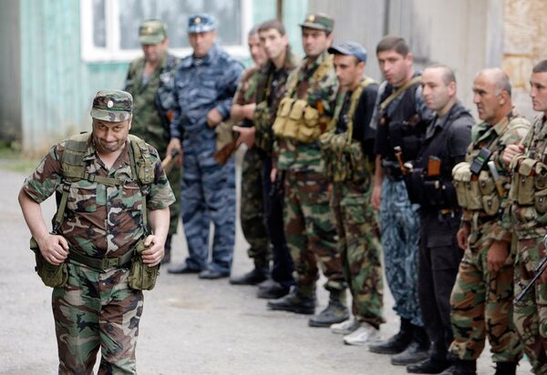 Президент непризнанной республики Южная Осетия Эдуард Кокойты