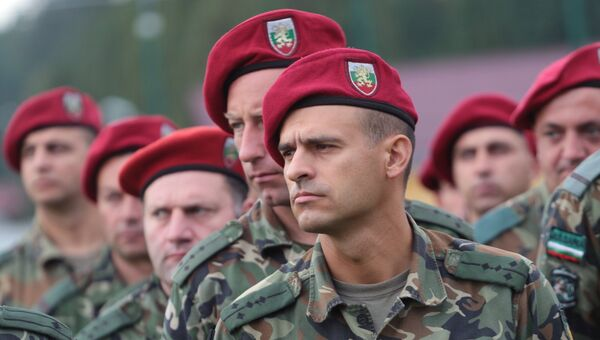Военнослужащие армии Болгарии. Архивное фото