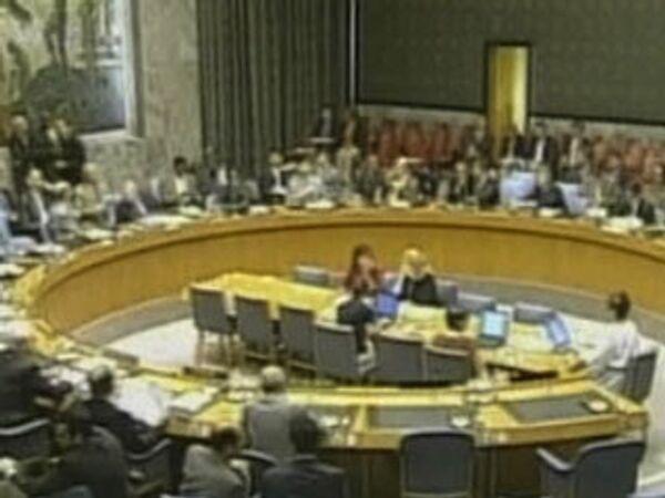 Совет безопасности ООН: дипломаты опять не пришли к единому мнению