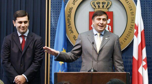 М. Саакашвили, И. Окруашвили