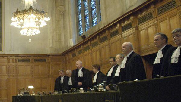 Международный суд ООН в Гааге. Архив