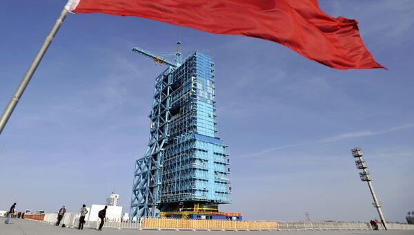 Стартовая площадка космодрома Цзюцюань. Архивное фото