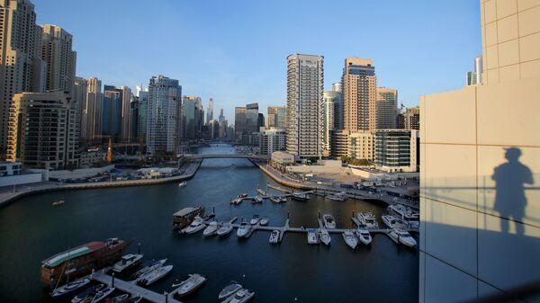 Яхты на набережной Дубая. Архивное фото