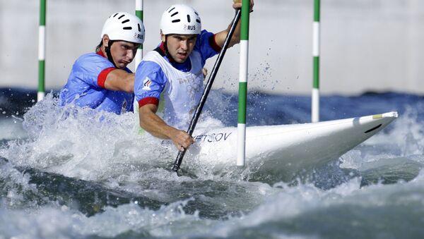 Россияне Михаил Кузнецов и Дмитрий Ларионов. Архивное фото