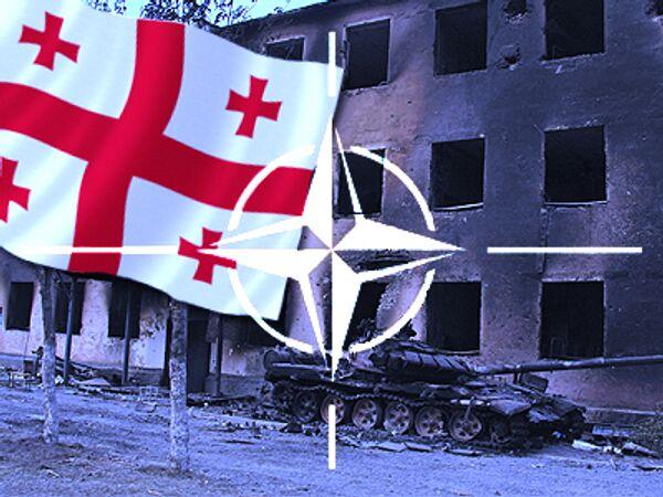 Генсек НАТО предложил Грузии установить гражданский контроль за армией
