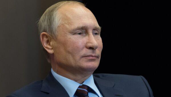 Президент РФ Владимир Путин. 13 сентября 2017