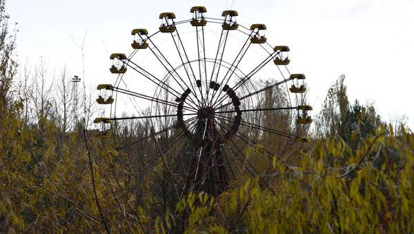 Колесо обозрения в Припяти. Архивное фото