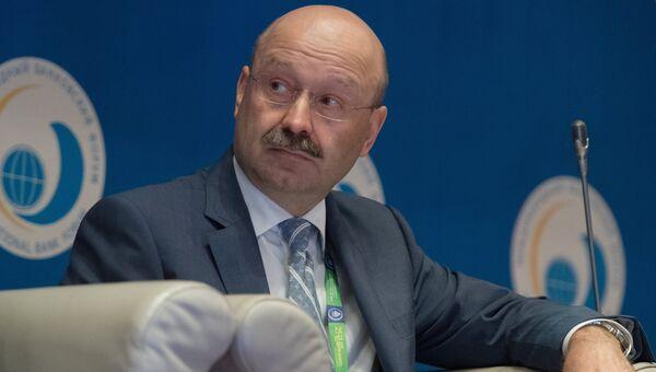Председатель правления банка ВТБ 24 Михаил Задорнов на XV Международном банковском форуме Банки России – XXI век в Сочи. 14 сентября 2017
