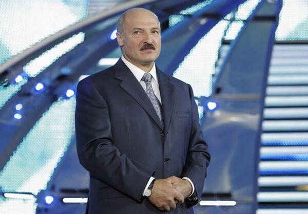 Президент Белоруссии Александр Лукашенко. Архив