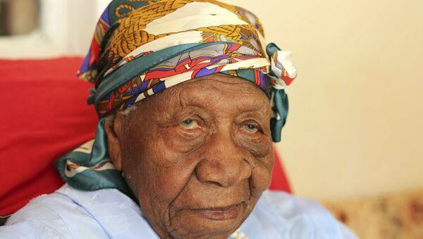 Старейшая жительница планеты Вайолет Мосс Браун
