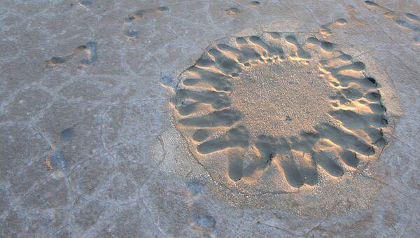 Соляное озеро Эльтон